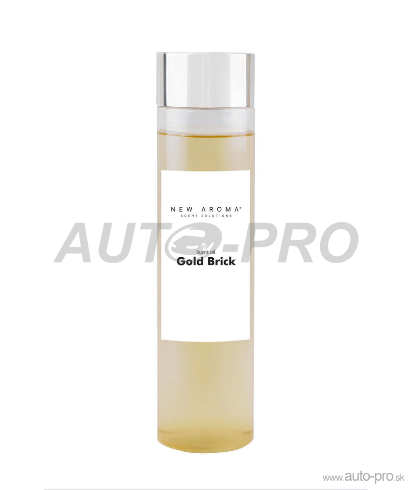 Vôňa do auto difuzéra Gold Brick 200ml